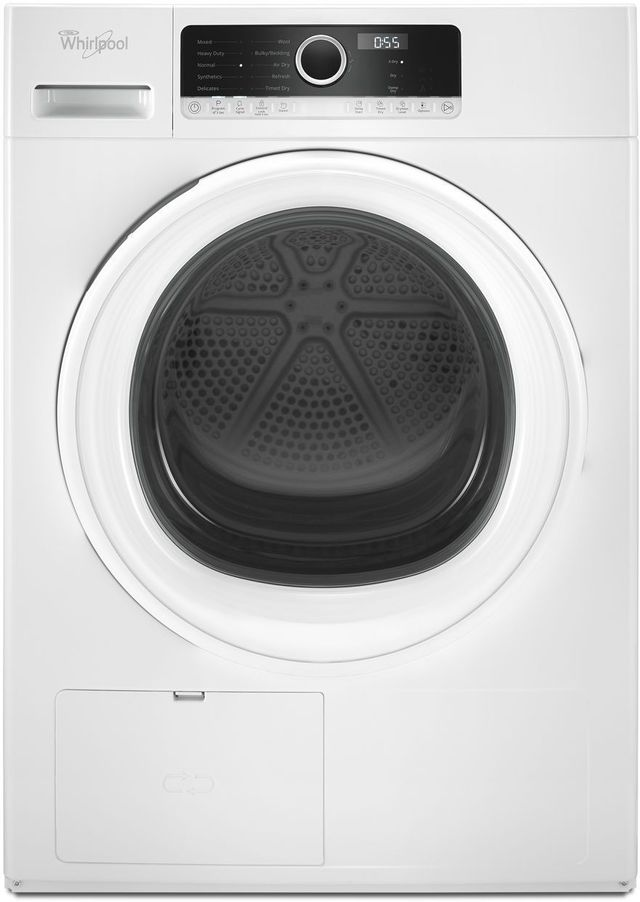 Whirlpool® Front Load Electric Compact Dryer-White-WHD3090GW