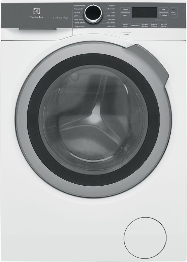 Electrolux 2.4 Cu. Ft. White Front Load Washer-ELFW4222AW