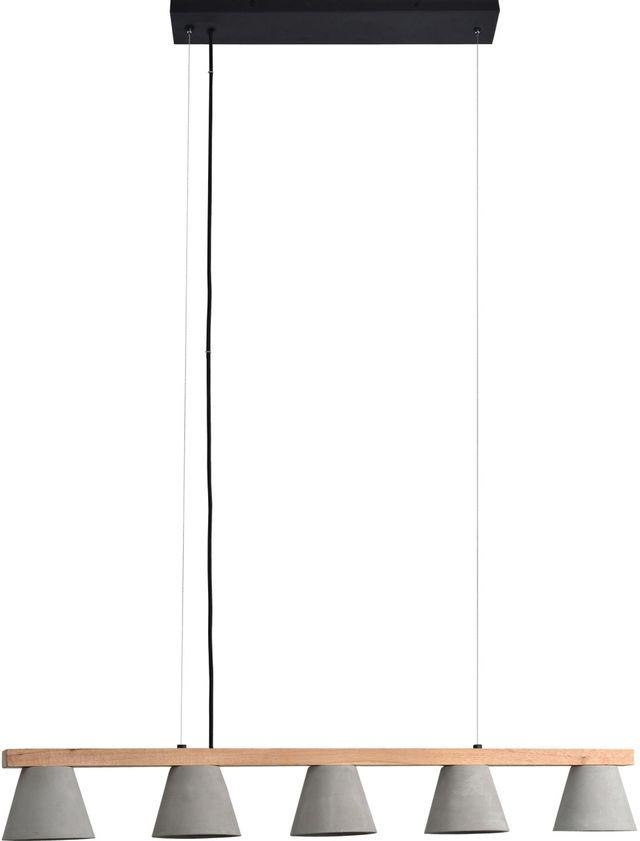 Renwil® Zain Black Powder Pendant Light-LPC4330