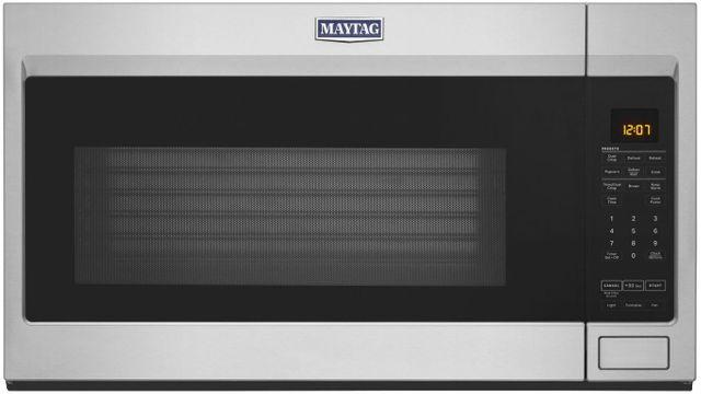Maytag® 1.9 Cu. Ft. Fingerprint Resistant Stainless Steel Over The Range Microwave-MMV4207JZ