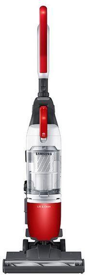 Samsung Bagless Upright Vacuum-Airborne Red-VU10H3021PR