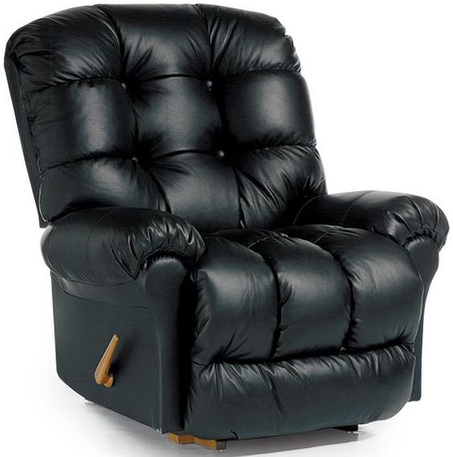 Best Home Furnishings® Denton Leather BodyRest™ Rocker Recliner-9DW17LV
