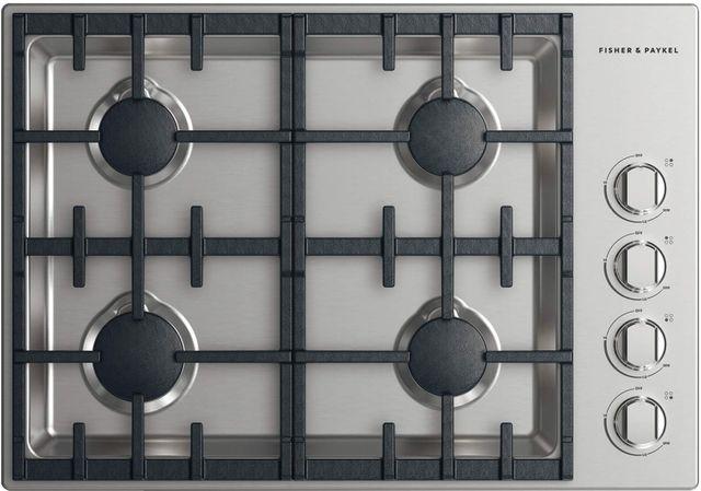 "Fisher Paykel Professional 30"" Gas Cooktop-Stainless Steel-CDV2-304N N"