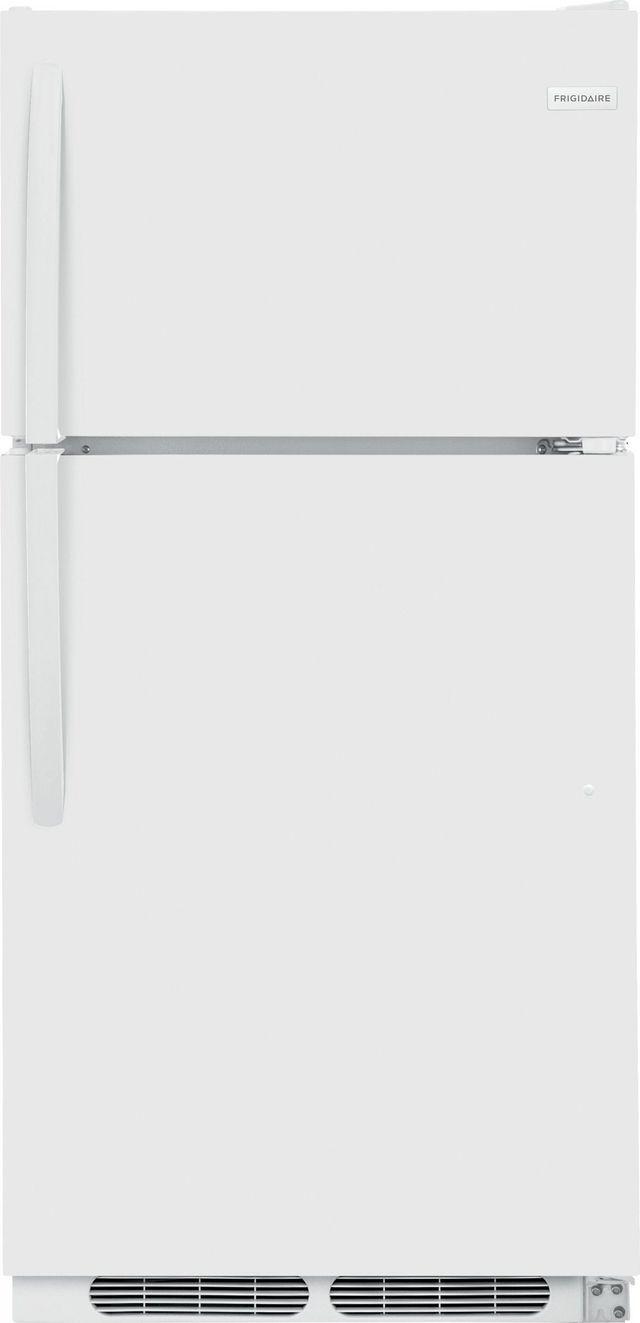 Frigidaire® 14.5 Cu. Ft. White Top Freezer Refrigerator-FFTR1514TW