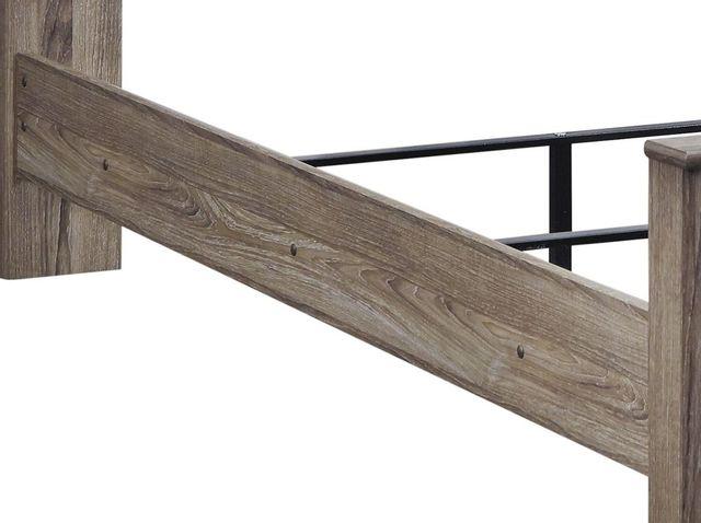 Signature Design by Ashley® Zelen Warm Gray Queen Panel Rails-B248-98
