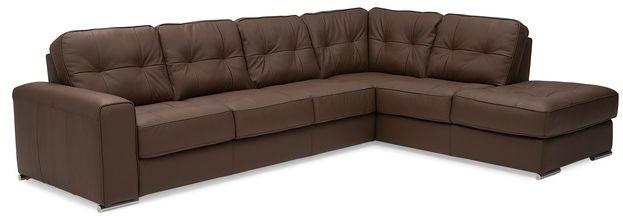 Sectionnel 2 morceaux Pachuca en tissu brun Palliser Furniture®-77615-12+35