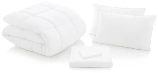Malouf® Sleep Woven™ White Split King Reversible Bed Set-MA01SKWHWHBB