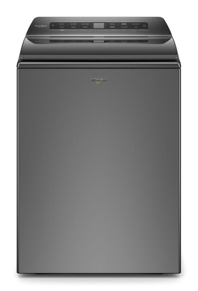 Whirlpool® 5.5 Cu. Ft. Chrome Shadow Top Load Washer-WTW6120HC