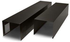 """Whirlpool® 30"""" Black Stainless Range Hood Chimney Extension Kit-EXTKIT18HV"""