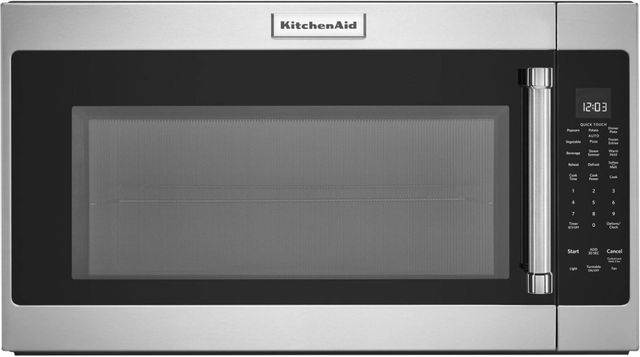KitchenAid® 2.0 Cu. Ft. Stainless Steel Over The Range Microwave-KMHS120ESS