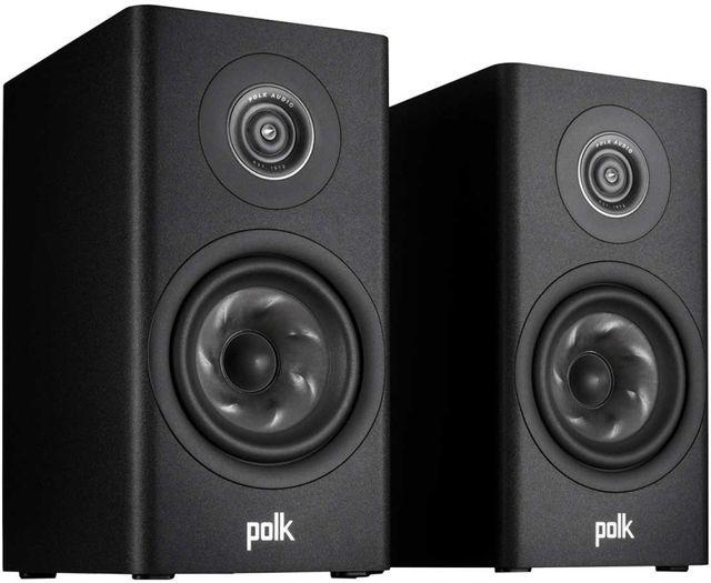 Polk Audio® R100 Black Bookshelf Speakers (Pair)-300028-01-00-005