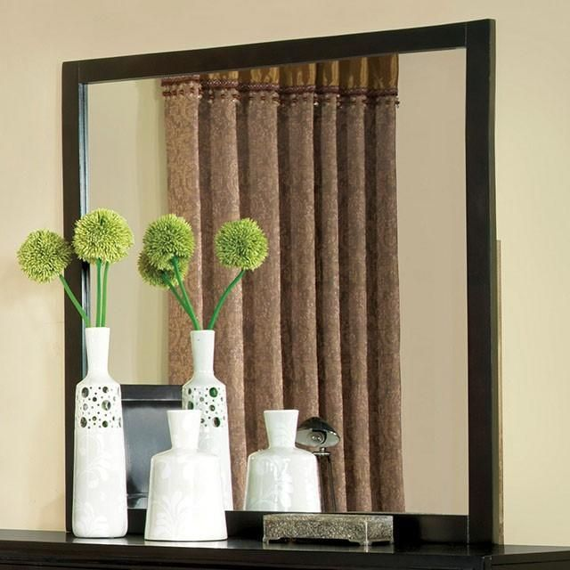 Furniture of America® Enrico I Espresso Dresser Mirror-CM7088M