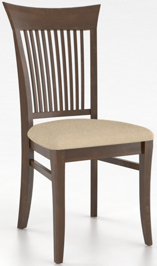 Chaise assise Core en tissu brun Canadel®-CNN002706S19MNA