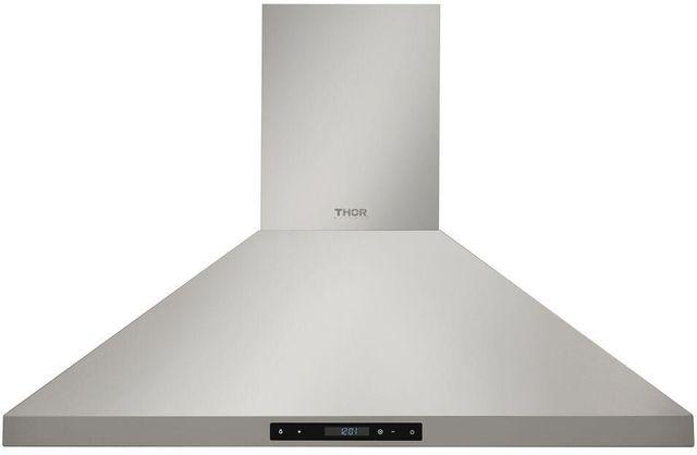 "Thor Kitchen® 35.38"" Stainless Steel Wall Mount Chimney Range Hood-HRH3607"