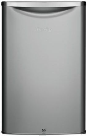 Danby® 4.4 Cu. Ft. Black/Stainless Steel Compact Refrigerator-DAR044A6DDB