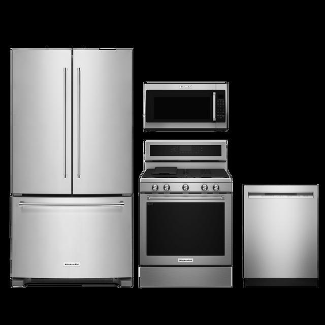 KitchenAid® 4 Piece Kitchen Package-Stainless Steel-KIKITKFGG500ESSS