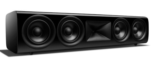 JBL Synthesis® HDI-4500 Black 2 ½-Way Center Channel Loudspeaker-JBLHDI4500BLQAM