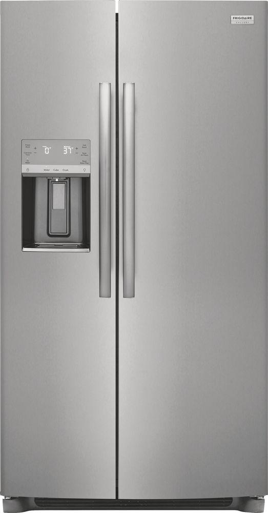 Frigidaire® 25.6 Cu. Ft. Stainless Steel Side-by-Side Refrigerator-GRSS2652AF
