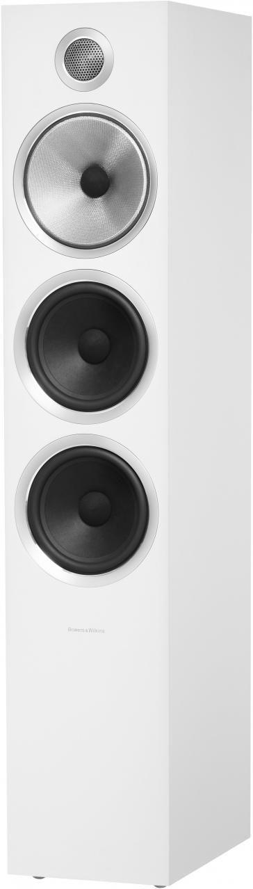 Bowers & Wilkins Satin White 703 S2 Floorstanding Speaker-703 S2-White