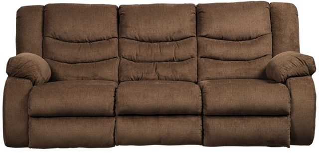Signature Design by Ashley® Tulen Chocolate Reclining Sofa-9860588