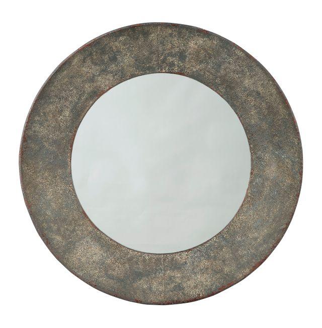 Carine Gray Accent Mirror-A8010147