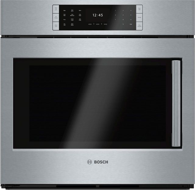 """Bosch Benchmark® Series 29.75"""" Stainless Steel Electric Single Oven Built In-HBLP451LUC"""