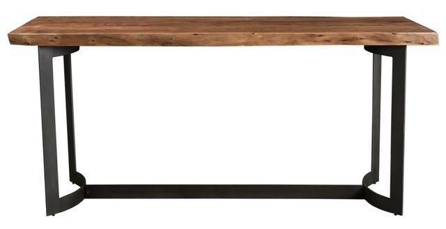 Table hauteur comptoir rectangulaire hauteur comptoir Bent, brun, Moe's Home Collections®-VE-1039-03