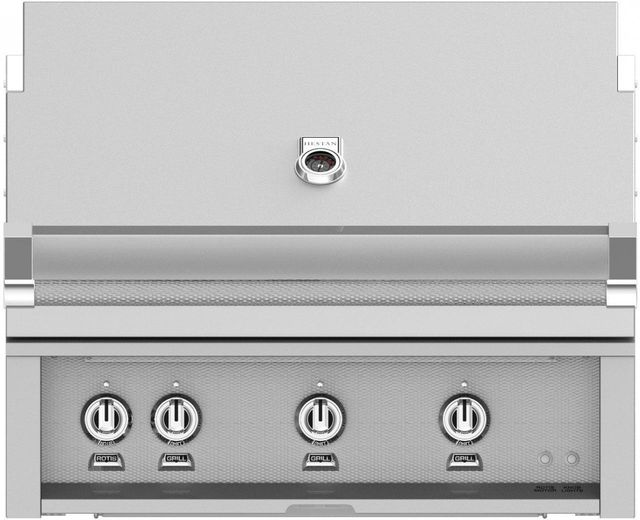"""Hestan Professional 36"""" Built-In Grill-Stainless Steel-GSBR36-NG"""