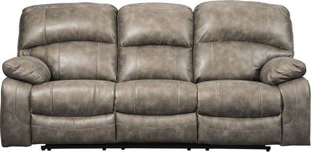 Signature Design by Ashley® Dunwell Power Reclining Sofa with Adjustable Headrest-5160215