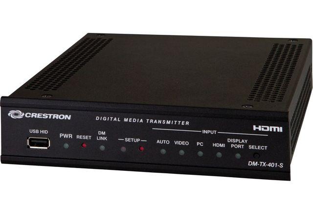Crestron® DigitalMedia 8G™ Fiber Transmitter 401-DM-TX-401-S