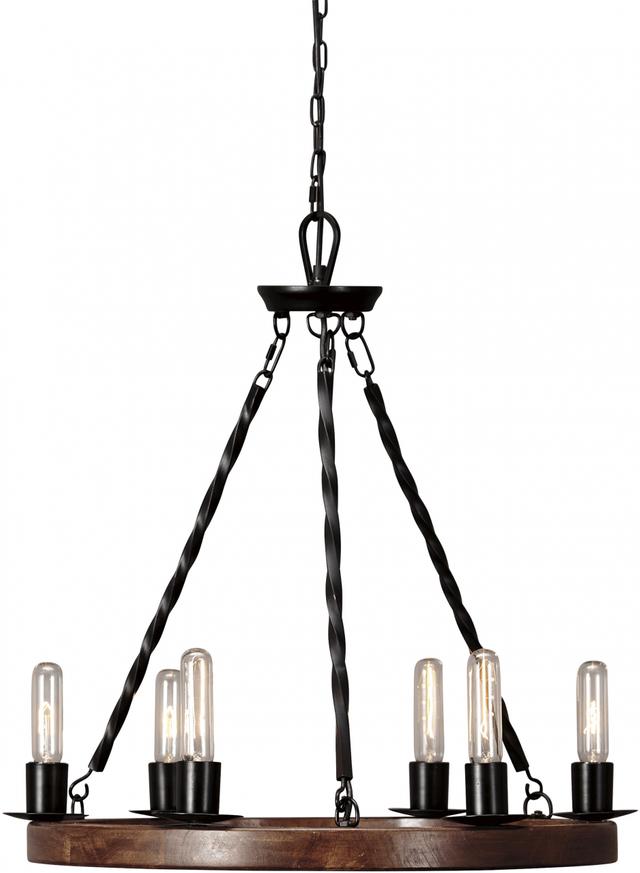 Signature Design by Ashley® Plato Brown Black Pendant Light (1/CN)-L000658