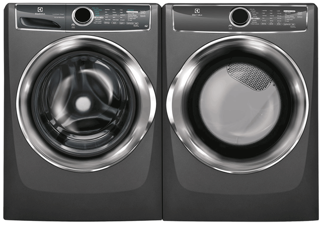 Electrolux Titanium Front Load Laundry Pair-ELLAUEFME627UTT