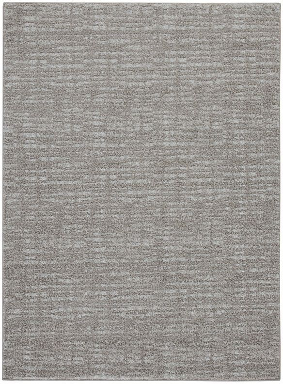 Signature Design by Ashley® Norris Taupe/White Large Rug-R400801
