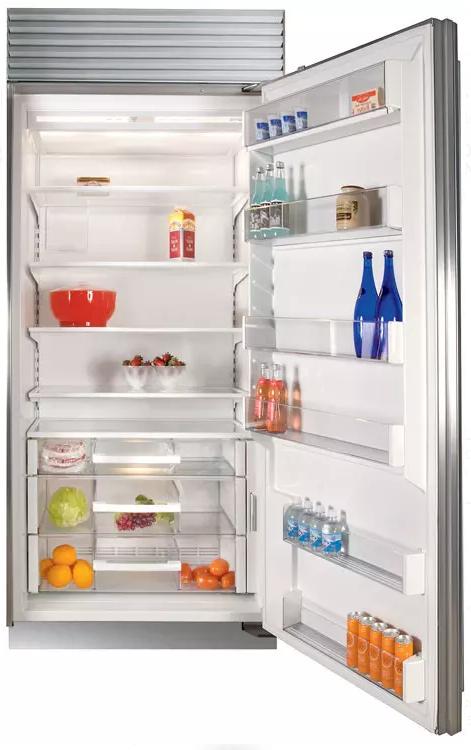 Sub-Zero® 23.5 Cu. Ft. Stainless Steel Built In Refrigerator-BI-36R/S/TH-RH