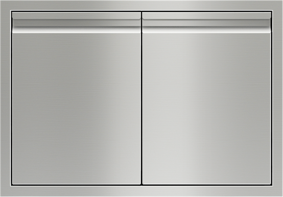 """Wolf® 36"""" Stainless Steel Double Access Doors-827601"""