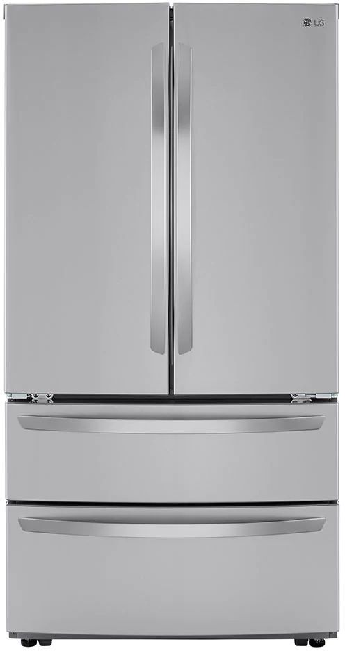 LG 22.7 Cu. Ft. PrintProof™ Stainless Steel Counter Depth French Door Refrigerator-LMWC23626S