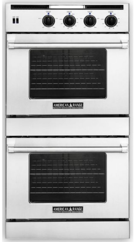 """American Range Legacy Hybrid Series 30"""" Dual Fuel Double Oven Built In-AROSSHGE-230"""