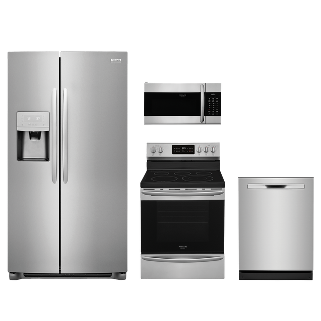 Frigidaire Gallery® 4 Piece Kitchen Package-Stainless Steel-FRGAKITGCRE3038AF