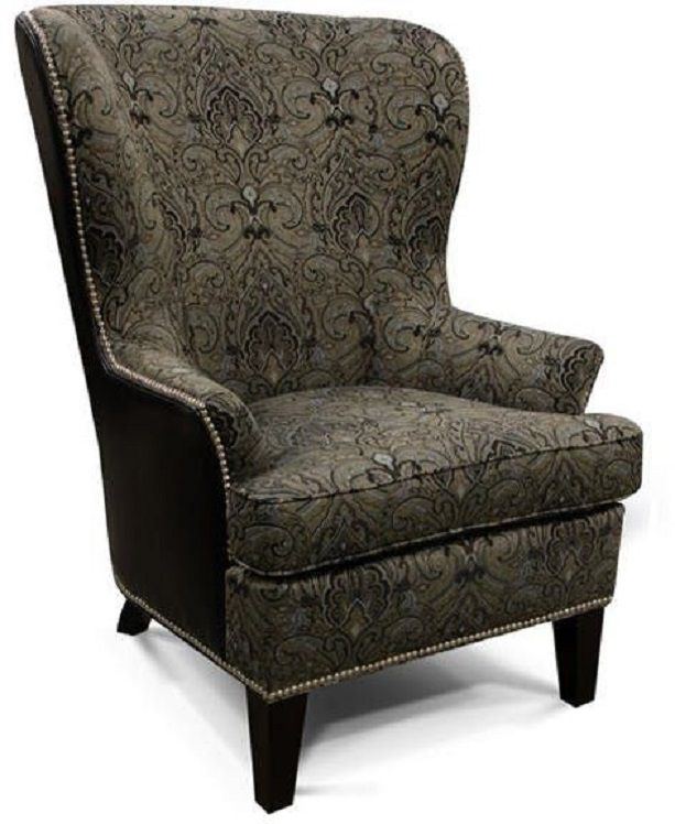 England Furniture® Leif Arm Chair with Nails-4544LN
