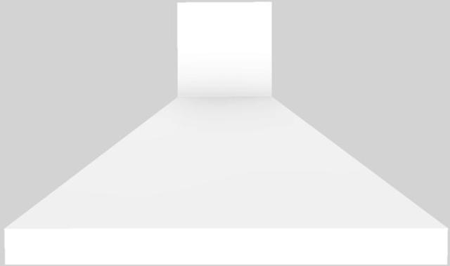 "Vent-A-Hood® 48"" Euro-Style Wall Mounted Range Hood-White-EPH18-248 WH"