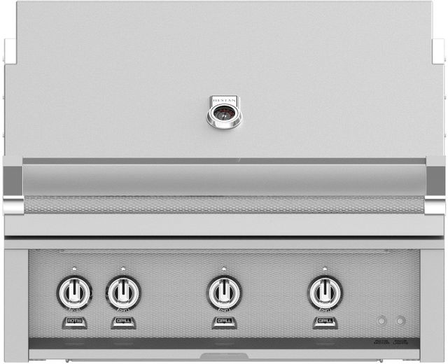 """Hestan Professional 36"""" Built-In Grill-Stainless Steel-GABR36-NG"""