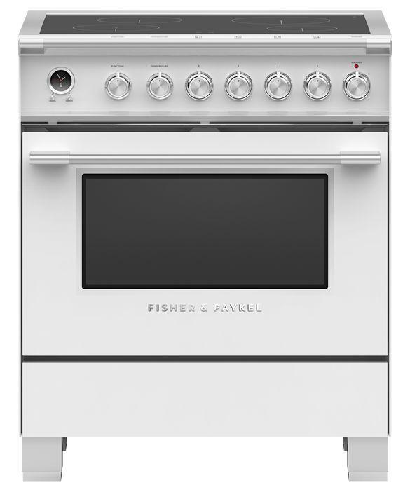 Cuisinière électrique encastrée Fisher Paykel® de 3,5 pi³ de 30 po - Blanc-OR30SCI6W1