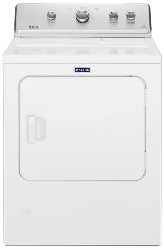 Maytag® 7.0 Cu. Ft. White Front Load Electric Dryer-YMEDC465HW