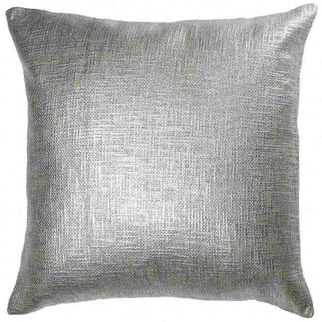 Coussin décoratif Malane, beige et argent, Renwil®-PWFL1216