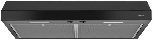 "Broan® Glacier BCSEK1 Series 30"" Under Cabinet Range Hood-Black-BCSEK130BL"