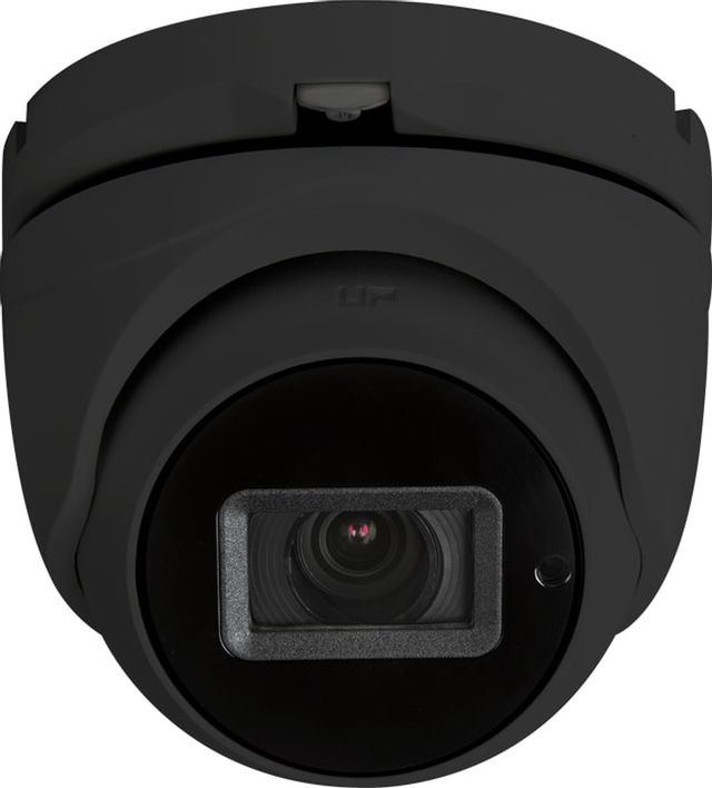 SnapAV Luma Surveillance™ 710 Series Black Turret Analog Camera with Heater-LUM-710-TUR-AH-BL