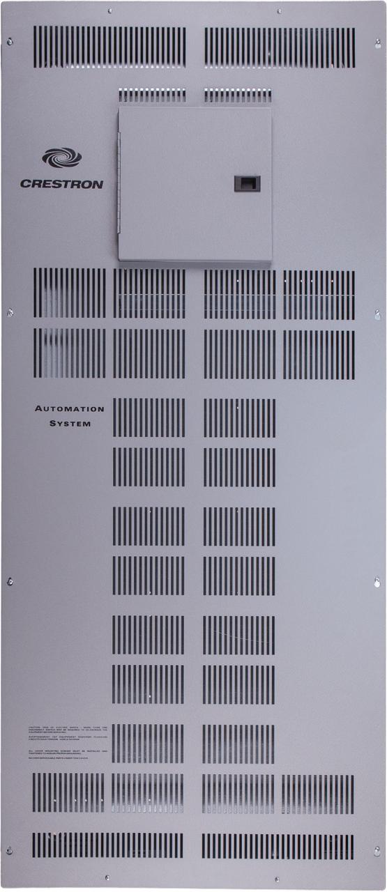 Crestron® 5 Modules High x 2 Modules Wide Automation Enclosure-CAEN-5X2-MLO-120/2P