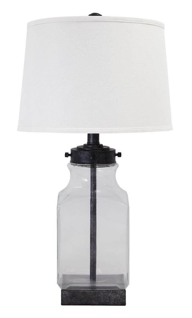 Signature Design by Ashley® Sharolyn Transparent/Silver Finish Table Lamp-L430144