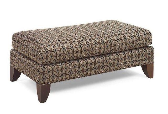 Craftmaster Living Room Ottoman-084400