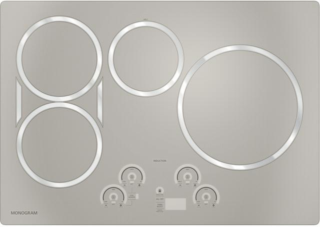 "Monogram® 30"" Induction Cooktop-Silver-ZHU30RSJSS"